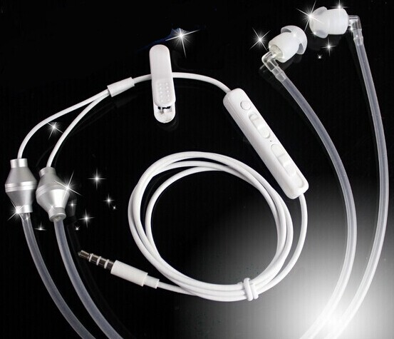 Radiation- free iDoctor air-tube headset. Available in mono or stereo